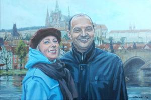 Dubbelportret in Praag