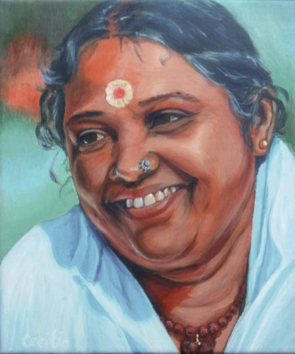 Portret van Amma