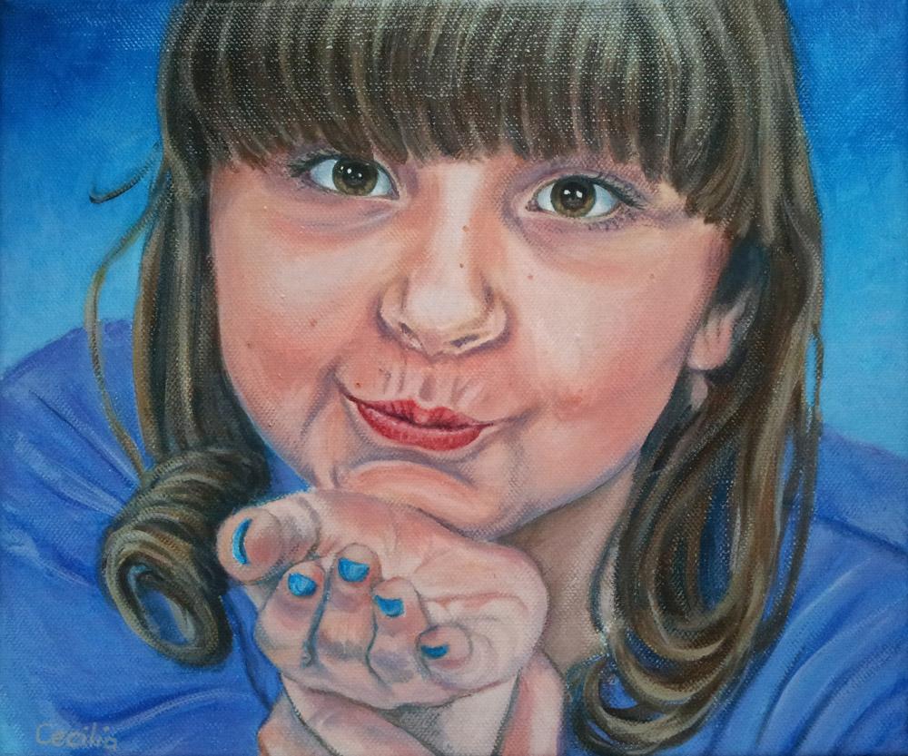 Portret Iris